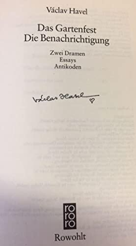 essays by v havel Vaclav havel has 149 ratings and 12 reviews eduardo said: a must-read for surviving a totalitarian regime or, if we're lucky, avoiding one havel's v.