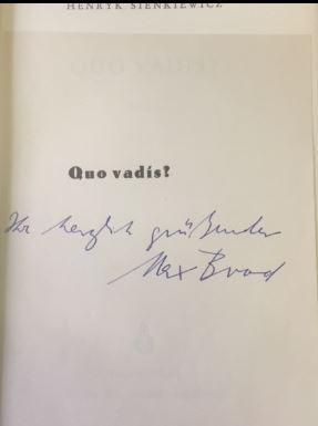 Quo vadis? Roman - Bearbeitet von Hugo: Sienkiewicz, Henryk.
