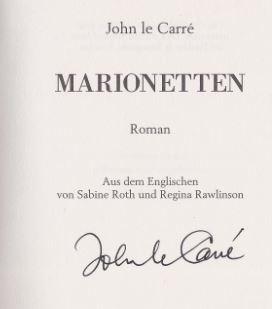 Marionetten. Roman.: le Carré, John.