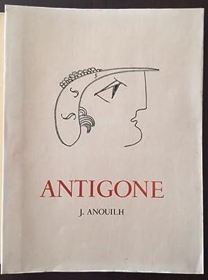 Antigone. Tragödie. Mit Original-Lithographien von Michel Cadoret.: Anouilh, Jean.