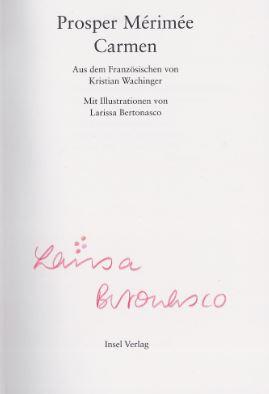 Carmen. Insel Bücherei IB 1399.: Mérimée, Prosper.