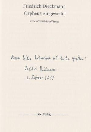 Wolfgang Amadeus mozart - First Edition - Signed - AbeBooks