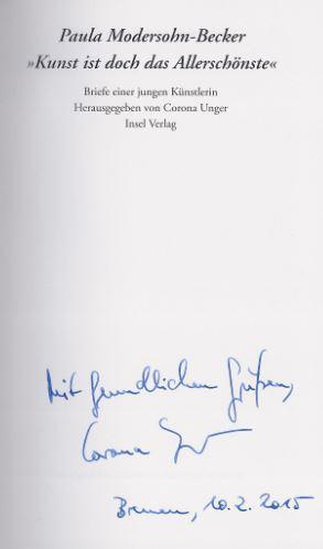 Briefe Und Tagebuchblätter Von Paula Modersohn Becker : Entdecken sie sammlungen von insel bücherei kunst und