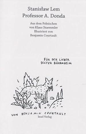 Professor A. Donda Mit zahlreichen Illustrationen von: Lem, Stanislaw und