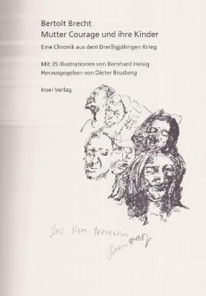 Mutter Courage und ihre Kinder. Eine Chronik: Brecht, Bertolt.