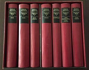 Gesammelte Werke in sieben Bänden. Vorzugsausgabe.: Dürrenmatt, Friedrich und