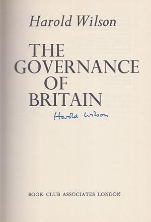 The Governance of Britain.: Wilson, Harold.