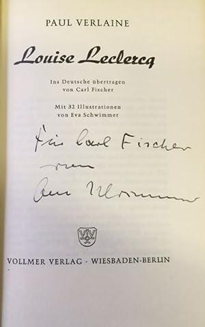 Louise Leclercq. Ins Deutsche übertragen von Carl: Verlaine, Paul.