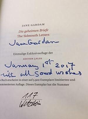 Die geheimen Briefe. The Sidmouth Letters. Deutsch: Gardam, Jane.