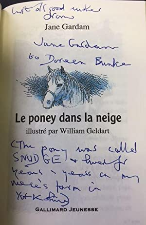 Le poney dans la neige.: Gardam, Jane und