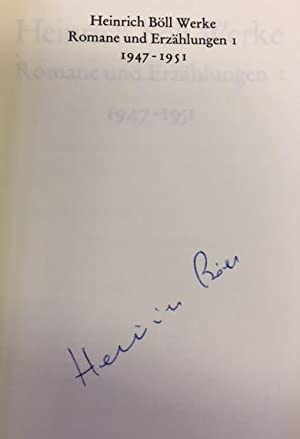 Werke. Romane und Erzählungen in fünf Bänden.: Böll, Heinrich.