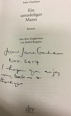 Ein untadeliger Mann. Roman.: Gardam, Jane und