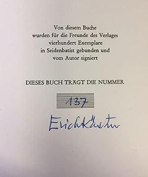 Gesang zwischen den Stühlen.: Kästner, Erich.