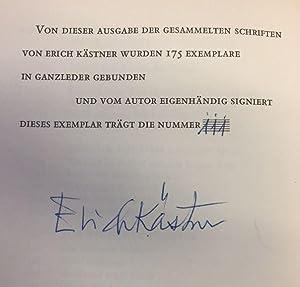 Gesammelte Schriften in 7 Bänden.: Kästner, Erich.