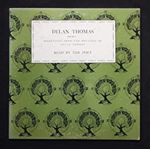 Dylan Thomas. Volume One. Selections From The: THOMAS, Dylan. [Reads]