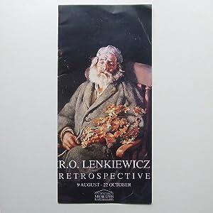 R.O. Lenkiewicz Retrospective. 9 August - 22: LENKIEWICZ, R. O.