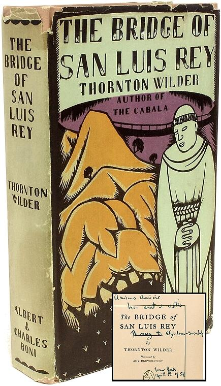 essays on the bridge of san luis rey Free monkeynotes-the bridge of san luis rey by thornton wilder-setting/character list/major characters/minor characters-free booknotes chapter summary plot synopsis essays.