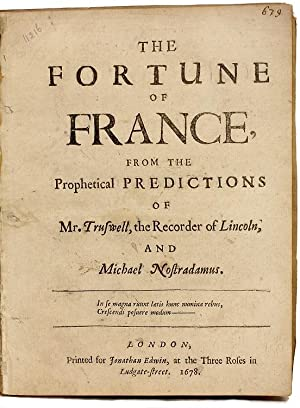 The Fortune of France from the prophetical: Mr. Truswell -
