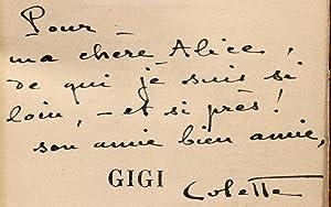 Gigi.: COLETTE, Sidonie-Gabrielle