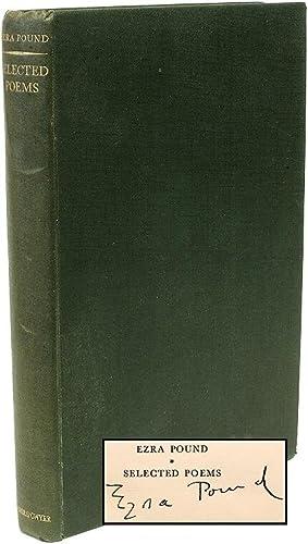 Ezra Pound Selected Poems.: POUND, Ezra (T.