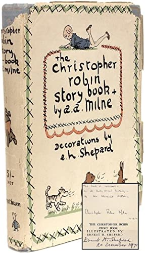The Christopher Robin Story Book from When: MILNE, A. A.