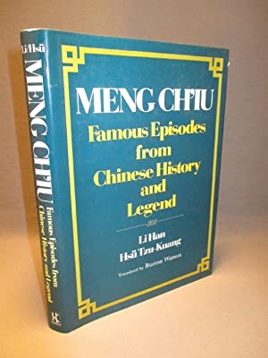 Meng Ch'iu. Famous Episodes from Chinese History: Li Han &