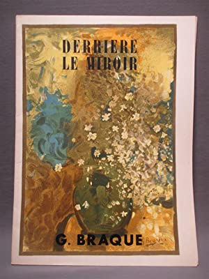 Derriere le miroir de braque abebooks for Maeght derriere le miroir