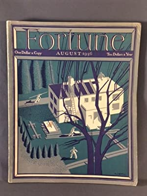 FORTUNE MAGAZINE. August 1936 - Volume XIV - Number 2
