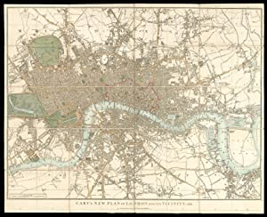 Cary's New Plan of London and Its Vicinity, 1826.