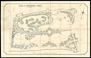 Plan of Battersea Park.