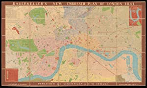 Bauerkeller's New Embossed Plan of London 1841