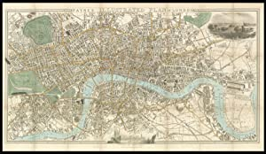 Payne's Illustrated Plan of London.