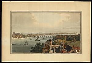 View of London from Lambeth: STADLER, J[oseph] C[onstantine]