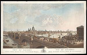 View of London, Taken from Albion Place,: STADLER, J[oseph] C[onstantine]