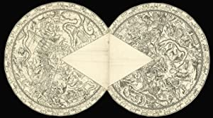 Pair of celestial charts on a conical: ANDREAE, Johann Ludwig