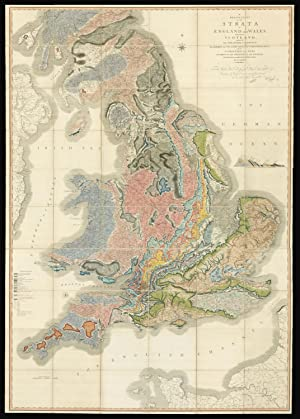 A Delineation of the Strata of England: SMITH, William