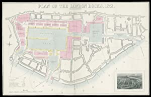 Plan of the London Docks, 1851.