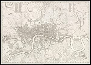 A New Plan of London, XXIX Miles in Circumference.