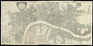 A New and Exact Plan of Ye City of London and Suburbs thereof, With the addition of the New Build...