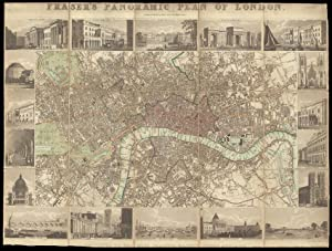 James Fraser's Panoramic Plan of London Dedicated to Her Most Gracious Majesty Queen Adelaide. En...