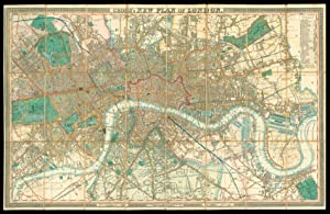 Cross's New Plan of London.