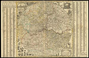 A New & Correct Map of Thirty Miles Round London Shewing all the Towns, Villages, Roads &c with t...