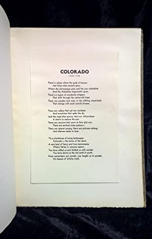 High Country, An Artist's Colorado (incl's Colorado, Sage of the Timberline): Rome, ...