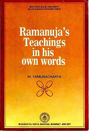 Ramanuja's Teachings in His Own Words: Yamunacharya, M.