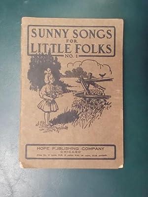 Sunny Songs for Little Folks