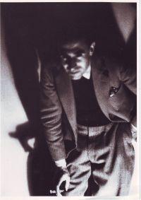René Guiette 1932 Black and white photograph