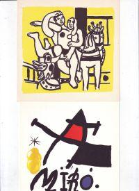 Galerie Maeght Set of 49 invitation cards
