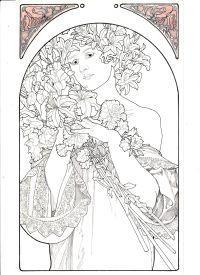 The graphic work of Alphonse Mucha: Mucha, Jiri /