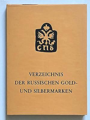 Verzeichnis der russischen gold- und silbermarken: Boris Rothemund
