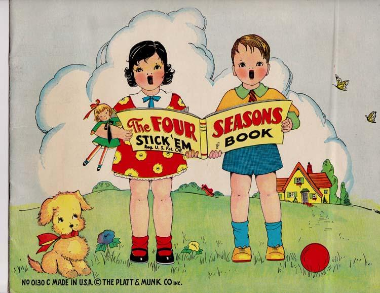 THE FOUR SEASONS STICK 'EM BOOK (null)